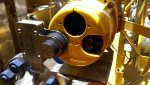 Valve interlock for valve actuator