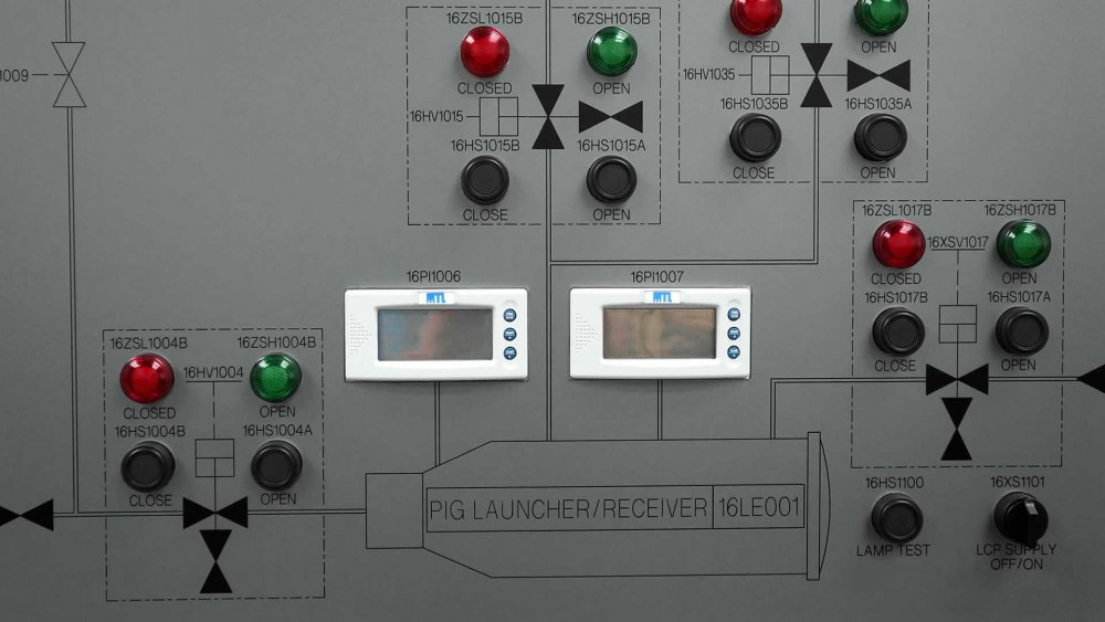 Custom build valve operating panel for enhanced safety and efficiency