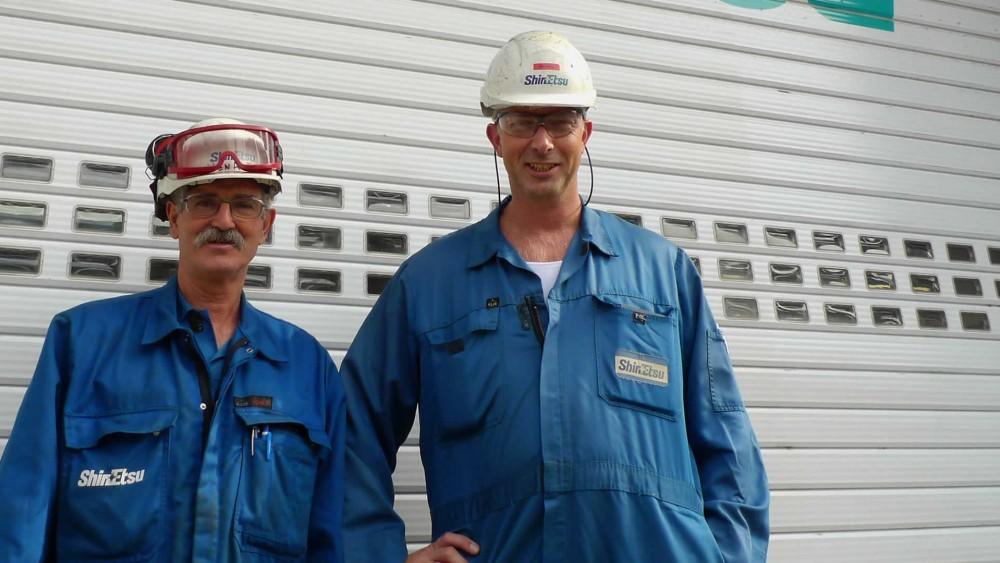 Operators at Shin-Etsu Rotterdam use valve interlocks