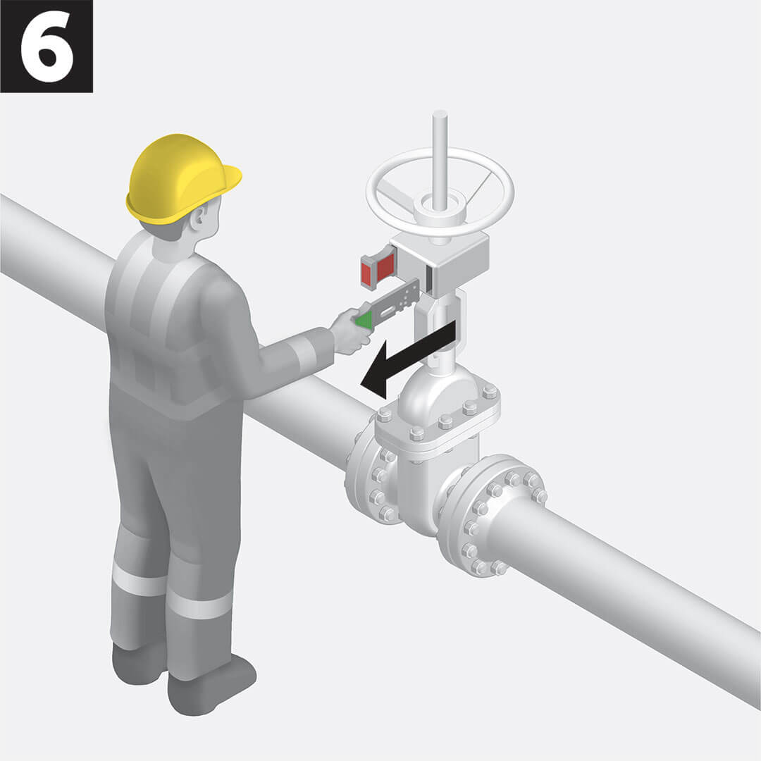 A valve line-up system avoids contamination during tanker loading