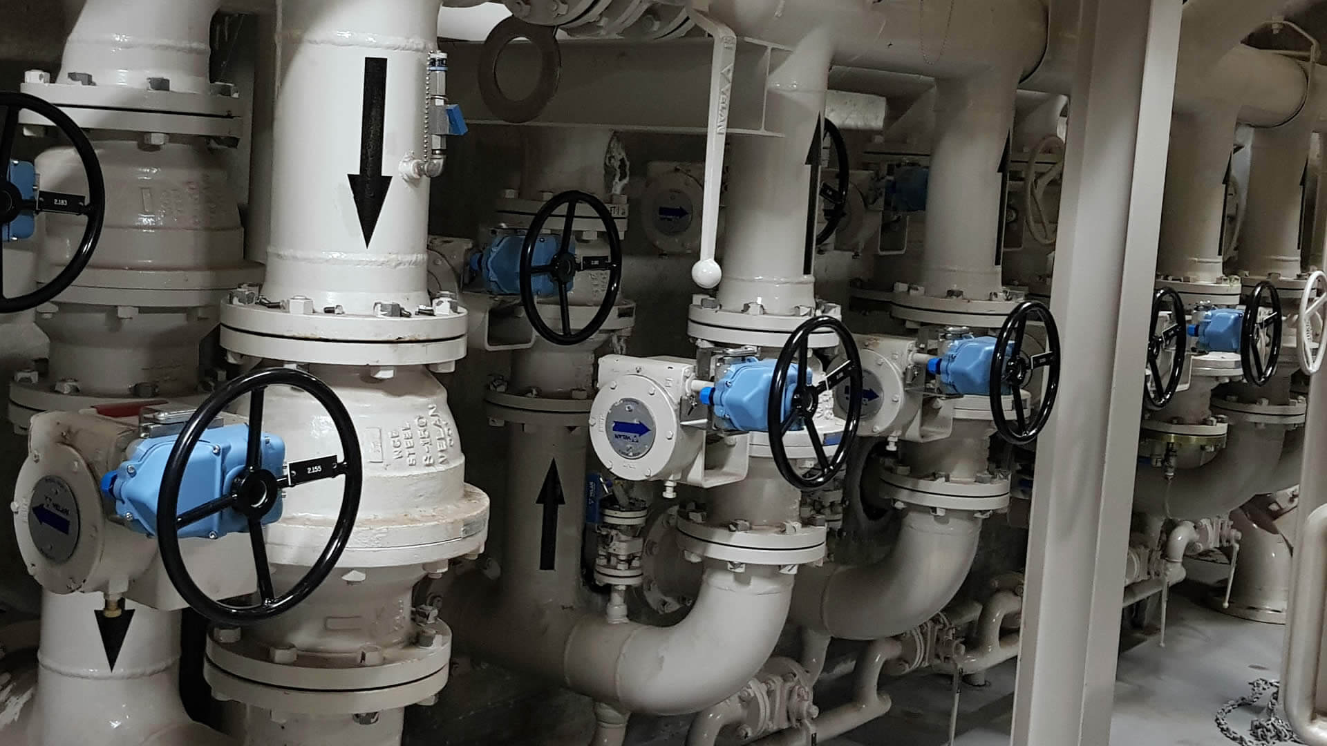 Valve position indicators are used to prevent valve misalignments during product handling