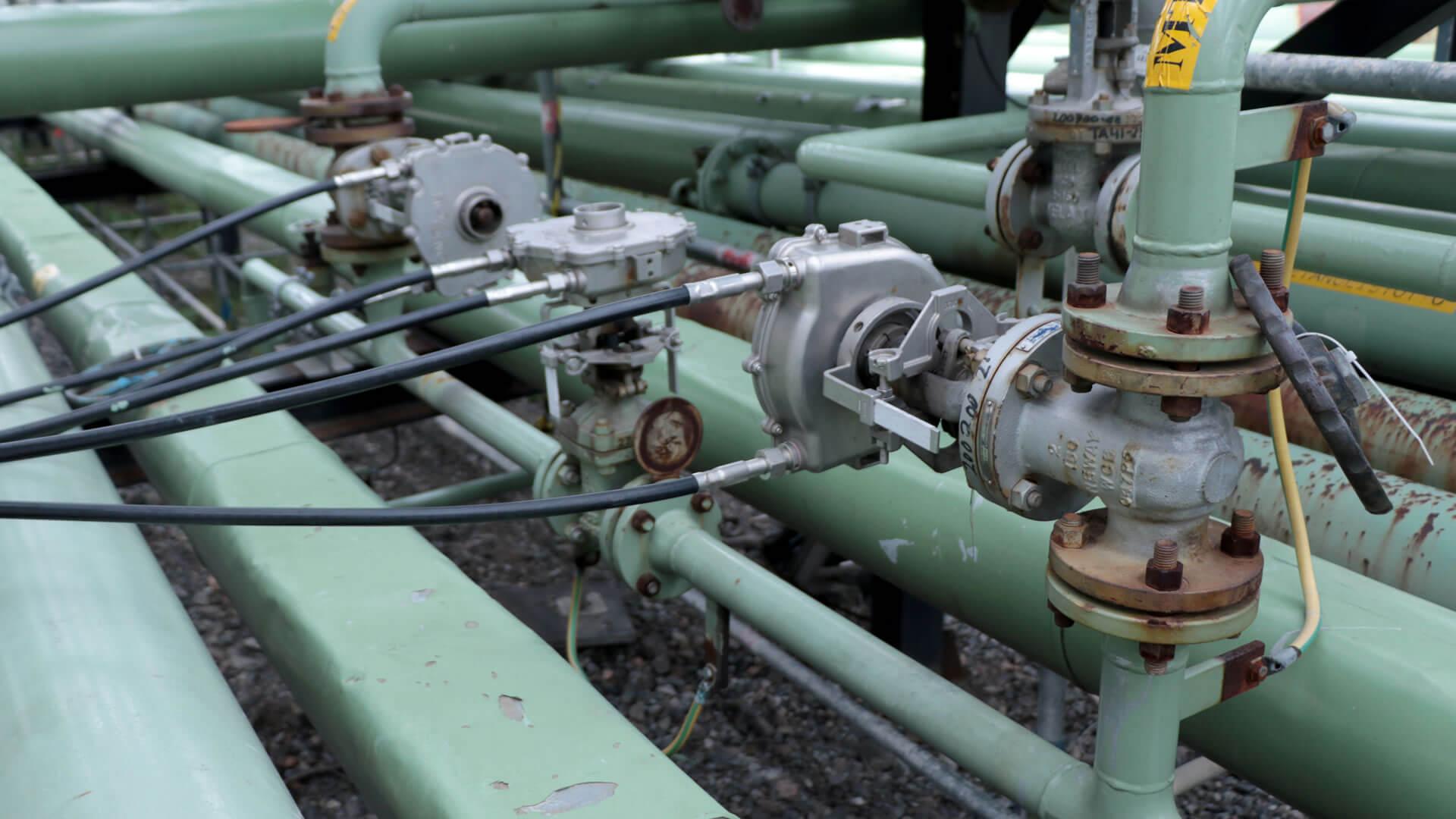 FlexiDrive remote valve operator valve station
