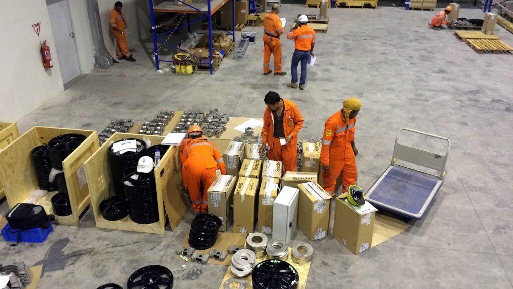 Pre installlation planning of large valve interlock order